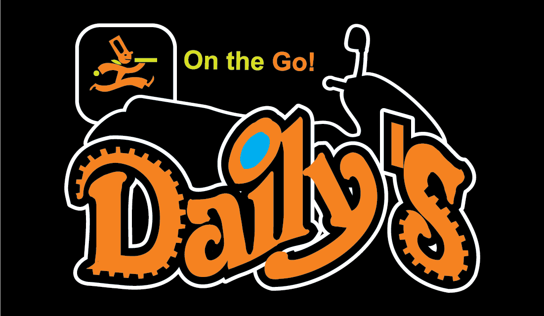 Daily's On The Go Logo Design and graphics banners